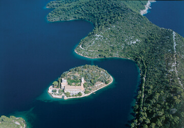 Campeggio sull'isola di Mljet  | AdriaCamps