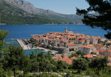 Mobile homes at island Korčula   AdriaCamps