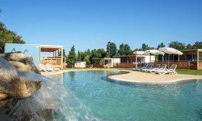Kamp Polari mobilna kucica Premium obiteljska bazen