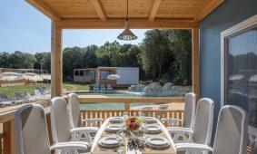 Kamp Polari mobilna kucica Premium obiteljska terasa
