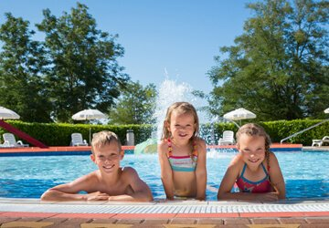 Campsites with aquaparks | AdriaCamps