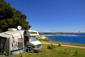 Standard A – zone sea - Camping Arena Stupice