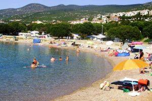 Camping Klenovica strand