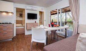 Mobilna kućica Mediteran Comfort Family Seaview