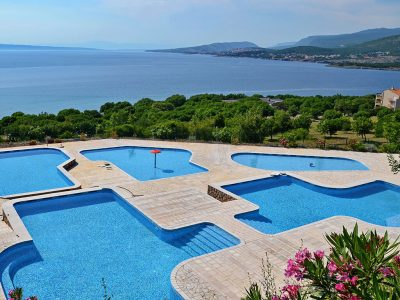 Kamp Klenovica bazen | AdriaCamps