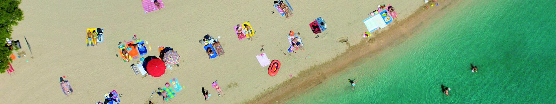 Kampovi s pješčanim plažama   AdriaCamps