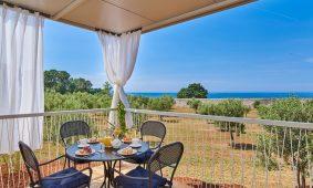 Aminess Park Mareda Mirami Obitelj Village Prestige Pogled terasa na more