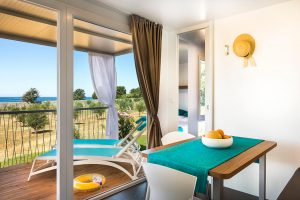 Campingplatz Aminess Park Mareda Prestige Mobilheime Innenraum | AdriaCamps