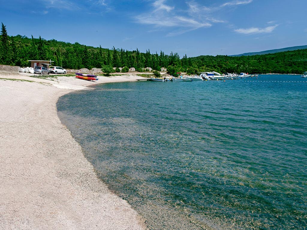Istrien Karte Rabac.Tunarica Sunny Camping Rabac Istrien Adriacamps