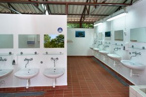 Camping Tunerica sanitary facilities | AdriaCamps