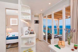 Camping Marina Premium stacaravan interieur | AdriaCamps