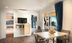 Kamp Resort Lanterna, Marbello Premium Family mobilna kucica, interijer | AdriaCamps