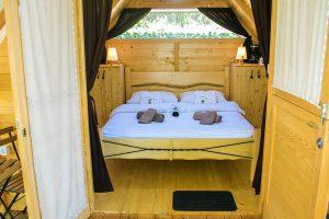 Camping Polidor Glamping kamer interieur | AdriaCamps