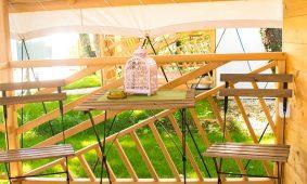 Kamp Polidor Glamping soba - terasa | AdriaCamps