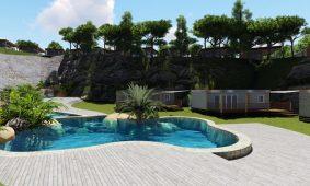 Camping-Vestar-Oasis-mobile-homes-pool