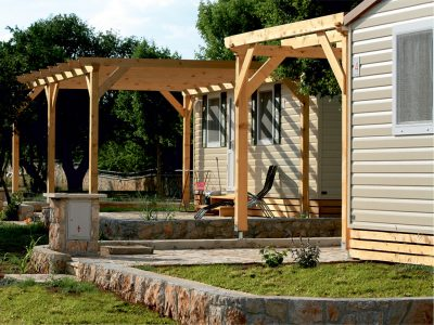 Campeggio Zrmanja Village: case mobili Glam e Dalmatia | AdriaCamps
