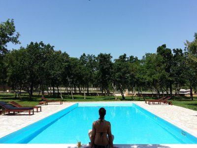Campingplatz Zrmanja Village: Dorf Schwimmbad | AdriaCamps