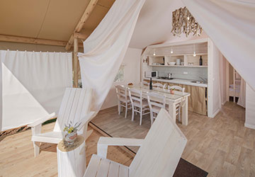Glamping in Croatia | AdriaCamps