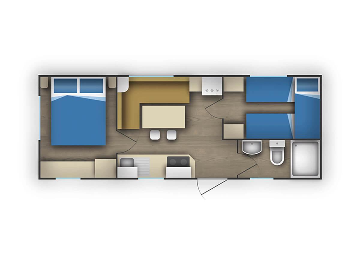 Campeggio tina orsera istria croazia adriacamps for Deckplan com piani di coperta gratuiti