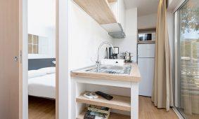 Kamp Porto Sole, Standard mobilne kucice, interijer | AdriaCamps