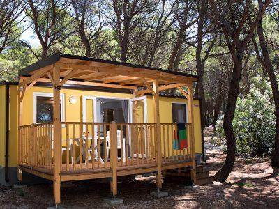 Camping Basko Polje stacaravan Hvar | AdriaCamps