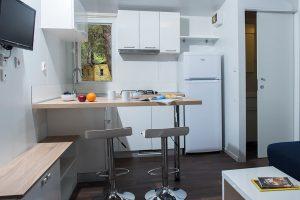 Campeggio Pineta case mobili Vanga - l'interno | AdriaCamps