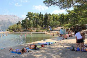 Campsite Port 9 sandy beach | AdriaCamps