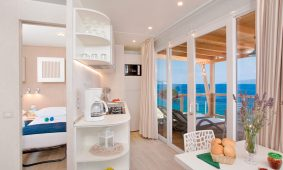 Kamp Marina Premium Seaview mobilni interijer interijera | AdriaCamps