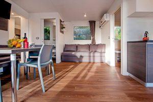 Camping Ljutic-stacaravan Superieur interieur | AdriaCamps