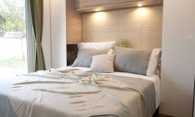 Kamp San Marino - Lopar, Garden Premium mobilna kucica - interijer spavace sobe | AdriaCamps