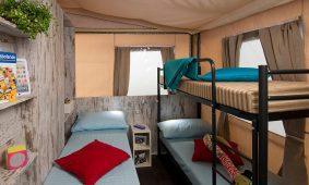 Kamp Santa Marina, Glamping sator - djecija soba | AdriaCamps