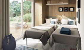 Kamp Santa Marina mobilne kucice Premium Comfort djeca spavaca soba | AdriaCamps