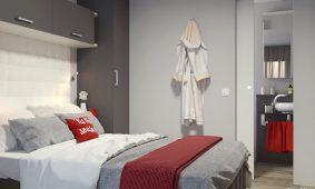 Kamp Santa Marina mobilne kucice Premium Family dvokrevetna soba | AdriaCamps