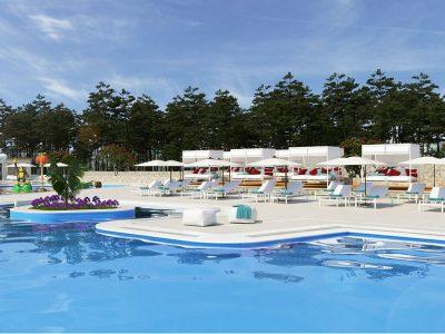Kamp Santa Marina - bazen | AdriaCamps