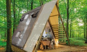 Glamping Premium two bedroom lodge tent (2+2)