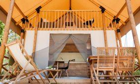 Glamping Premium two bedroom safari loft tent (2+2)
