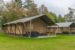 Two bedroom tent (4+2) - Kamp Pila