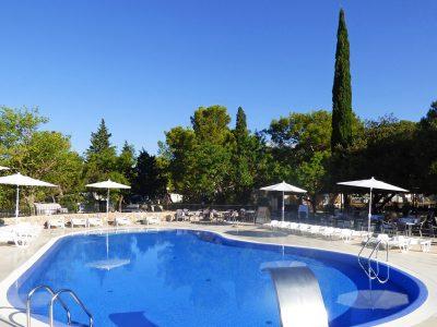 Campsite Paklenica Bluesun pool | AdriaCamps
