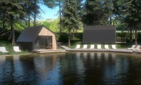 Glamping Lake House