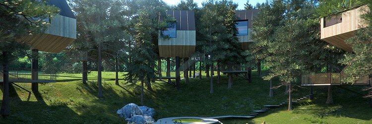 Camping-Turist-Grabovac-new-tree-house-2018
