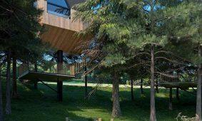 Kamp Turist Grabovac Tree house eksterijer | AdriaCamps