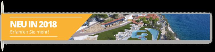 Neu 2018. - Campingplatz Belvedere Vranjica
