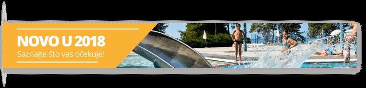 Novosti 2018 - Camping Zaton Holiday Resort