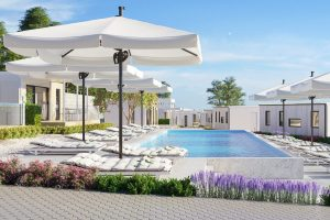 Amber Sea Luxury Village – Pool - Case mobili