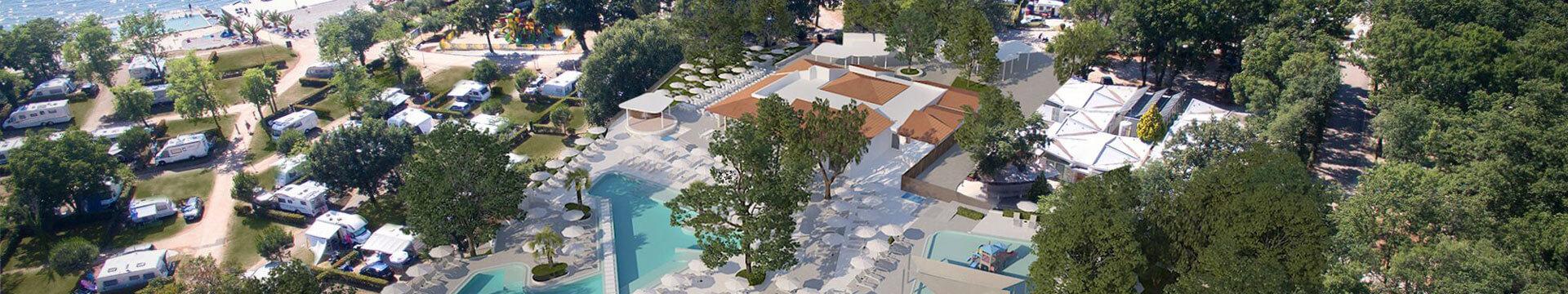 U 2019. godini kamp Aminess Park Mareda mijenja ime u Aminess Maravea Camping Resort