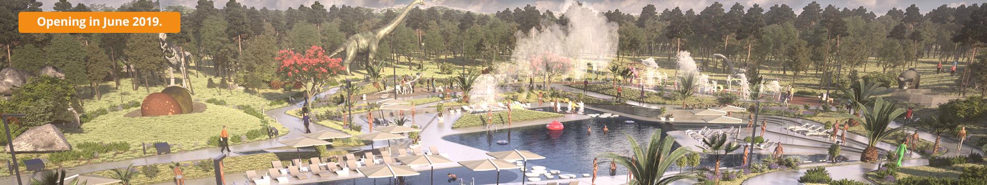 Neuer tematische Wasservergnügungspark und 20 neue Mobilheime im Campingplatz Mon Perin
