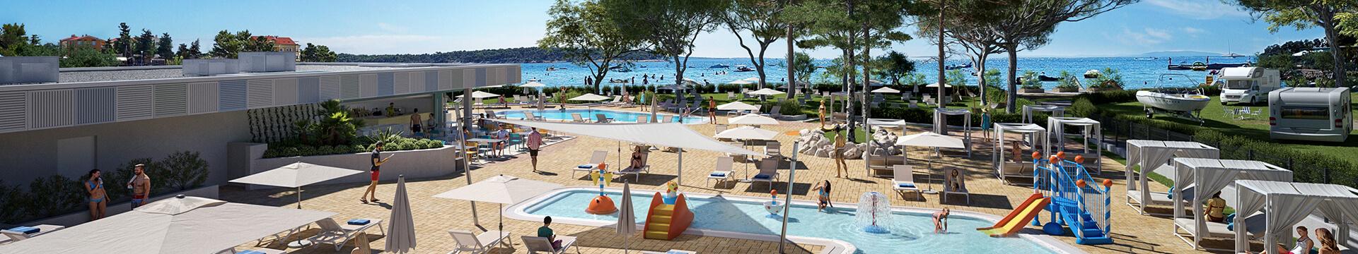 Novi bazeni i cjelodnevna animacija uz pregršt aktivnosti u Padova Premium Camping Resortu