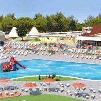 175 neue Mobilheime, 2 neu gebaute Schwimmbäder in 2019 auf dem Campingplatz Arena Kažela