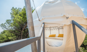 Glamping Friends & Family Glamping Pad