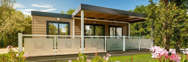 Botique-Camping-Santa-Marina-Mobile-home-Prestige-Family-exterior